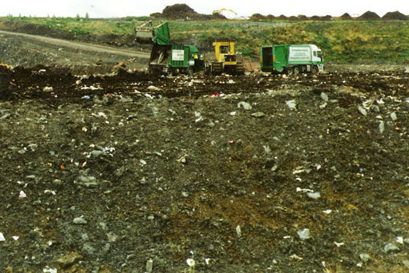 Landfill Site in Operation